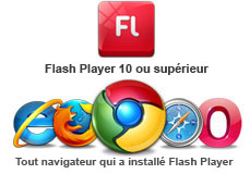 flash player nécessaire